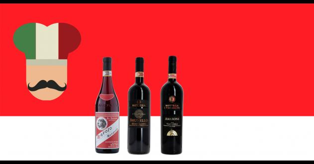 Les Grands Vins Italiens