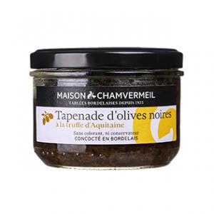 Tapenade d'olives noires à la truffe d'Aquitaine